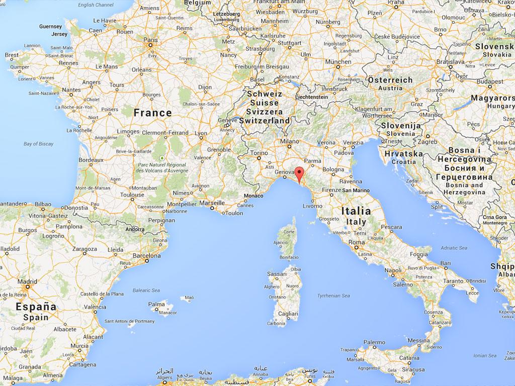 i coralli rooms  where we are. i coralli rooms for rent monterosso al mare cinque terre liguria